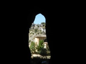Ermita desde Cueva Grande